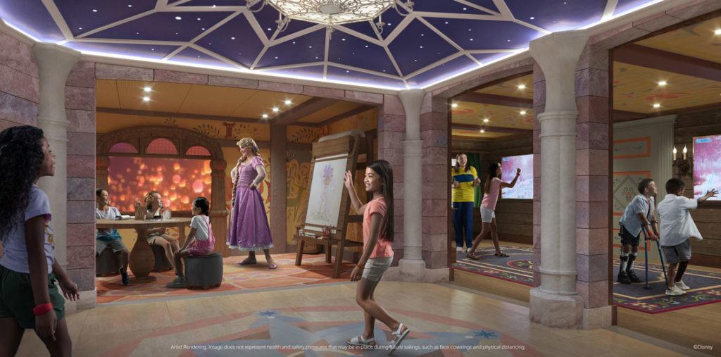 Fairytale Hall sur le Disney Wish