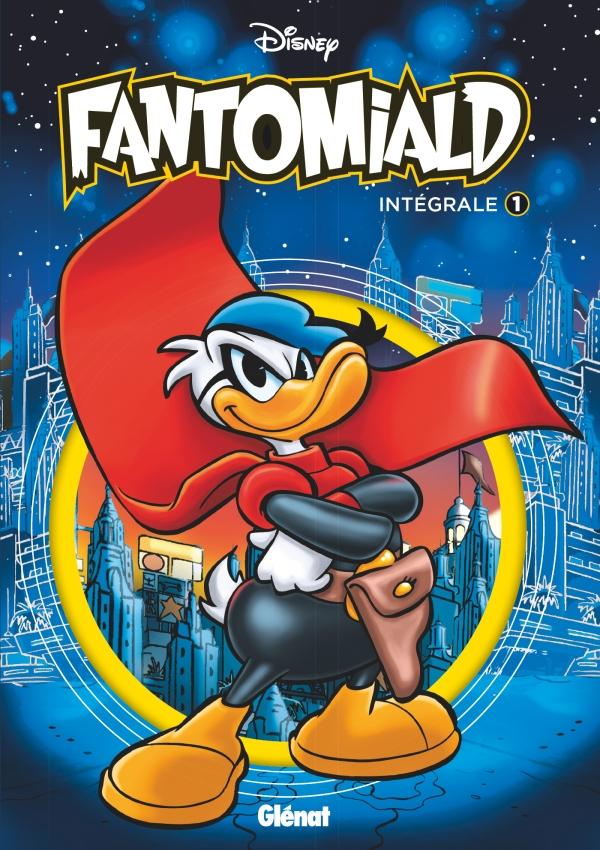 Couverture du numéro 1 de Fantomiald l'intérgrale. Fantomiald croise les bras