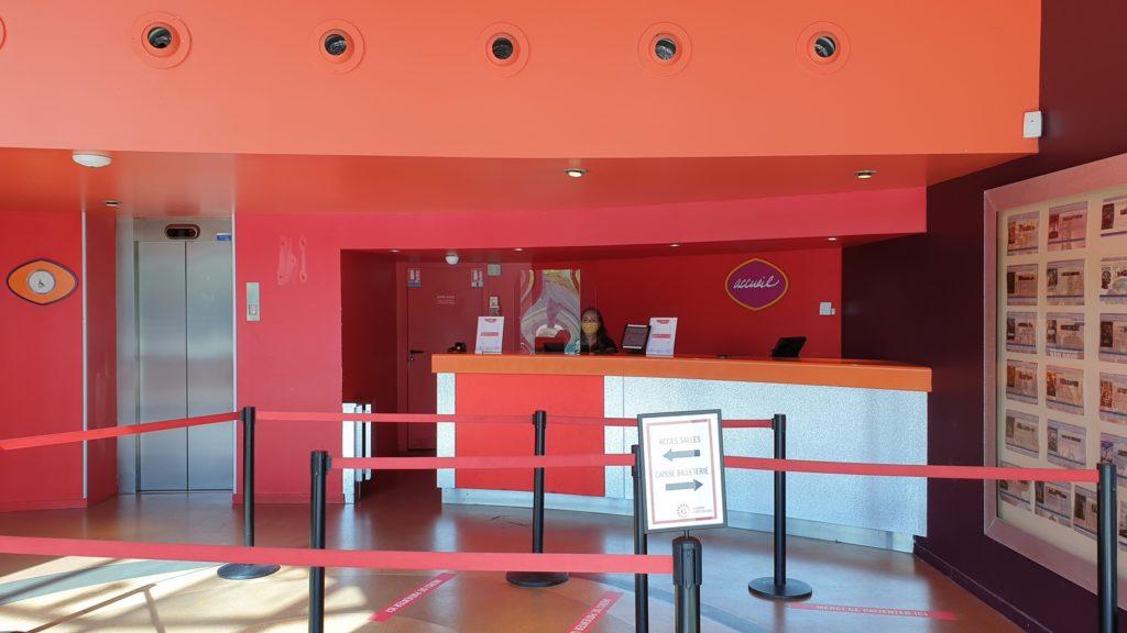 The cinema queue