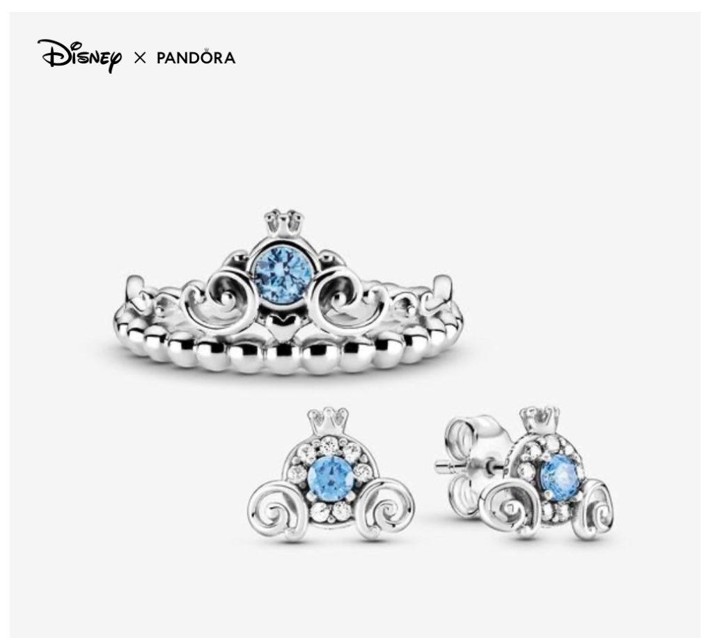 Charms Pandora x Disney Cendrillon