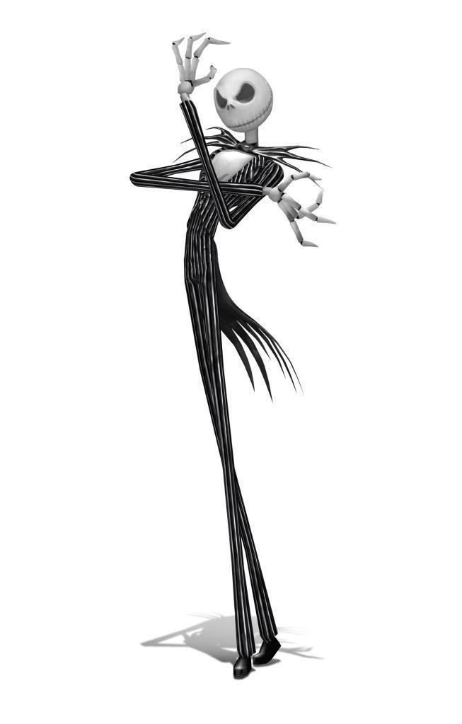 LE personnage squelettique de Jack Skellington