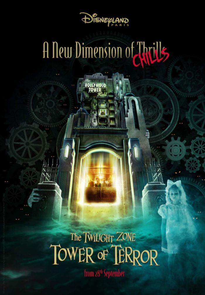 The Twilight Zone Tower of Terror™, l'affiche de l'atraction
