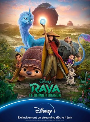 l'affiche du film Raya et le dernier dragon