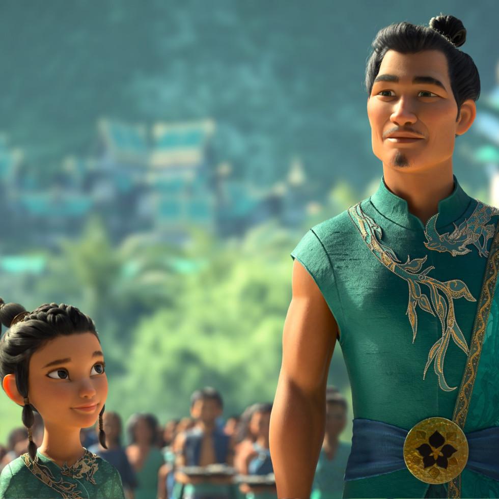 Raya et son père