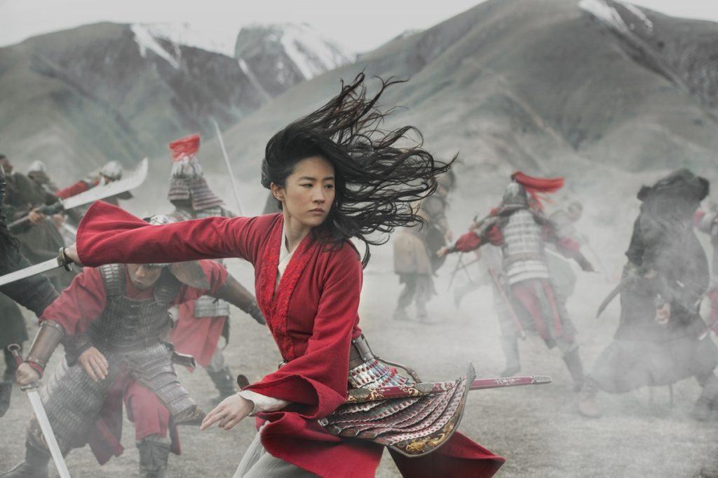 Mulan entrain de combattre