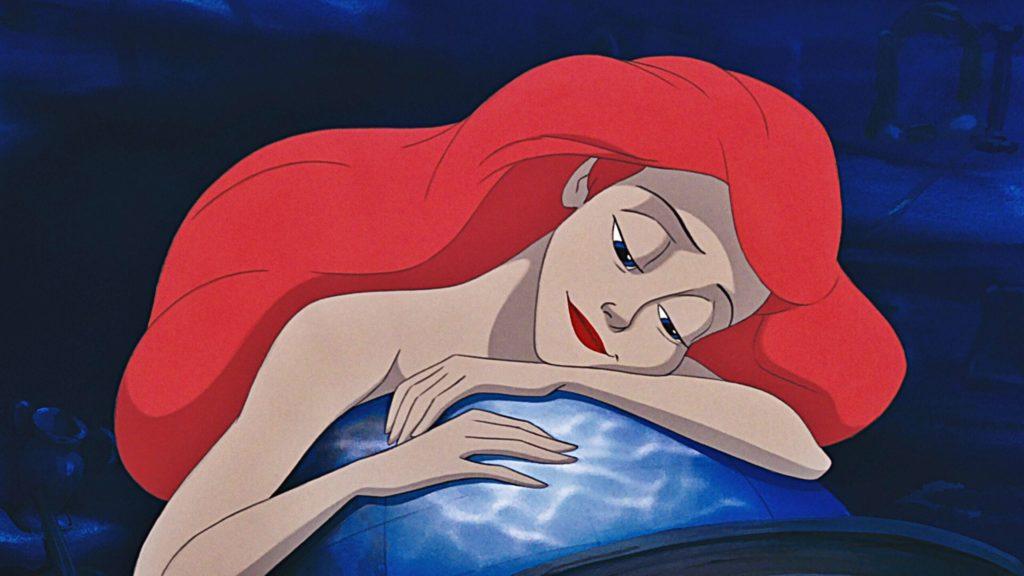 Ariel est triste