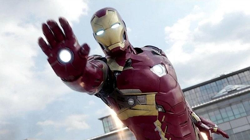 L'armure d'Iron Man issu du film