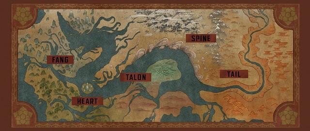 La carte de kumandra