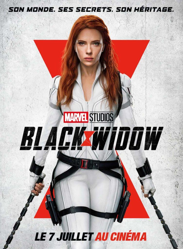 L'affiche du film Black Widow