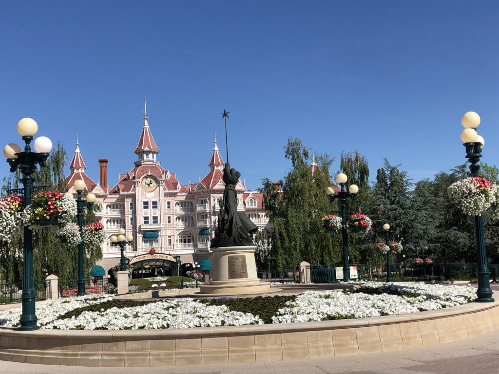 l'entrée de Disneyland Paris, séjour post-covid