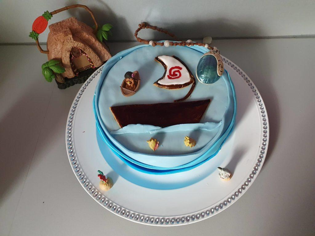 le gâteau est terminé