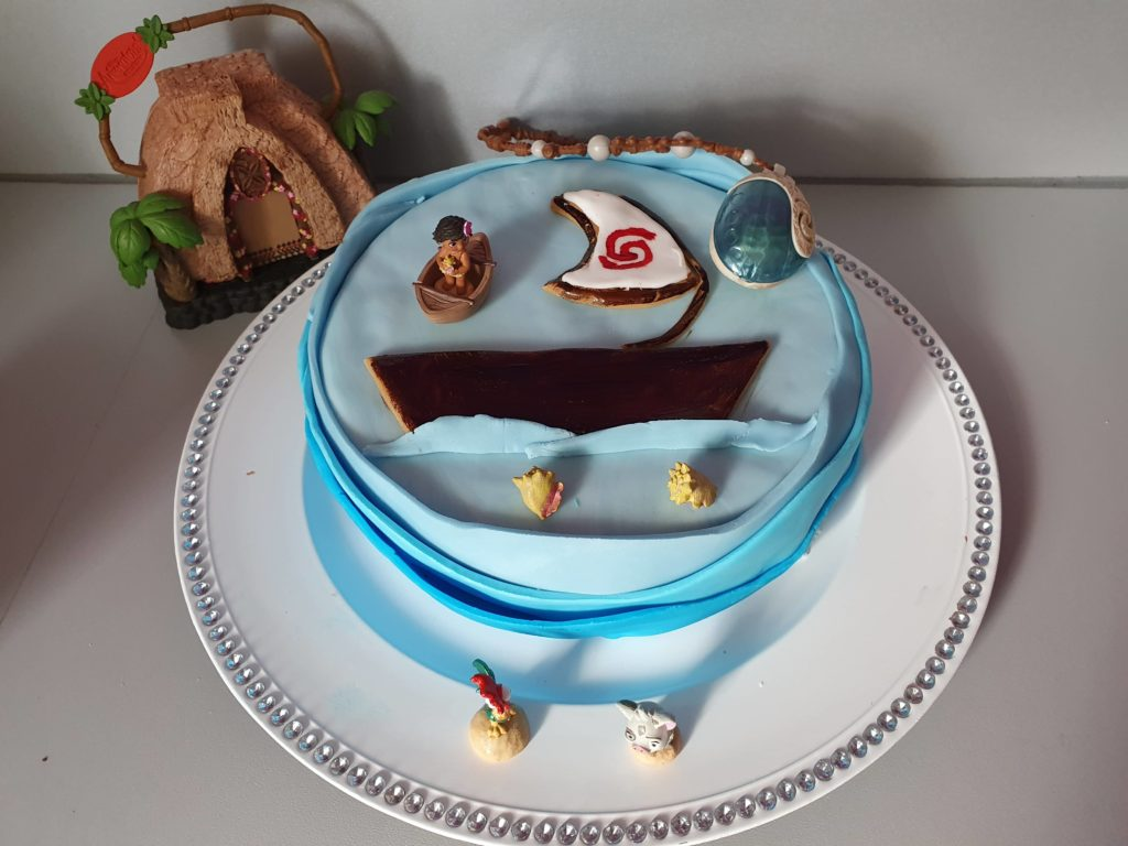 Le gâteau de la belle Vaiana