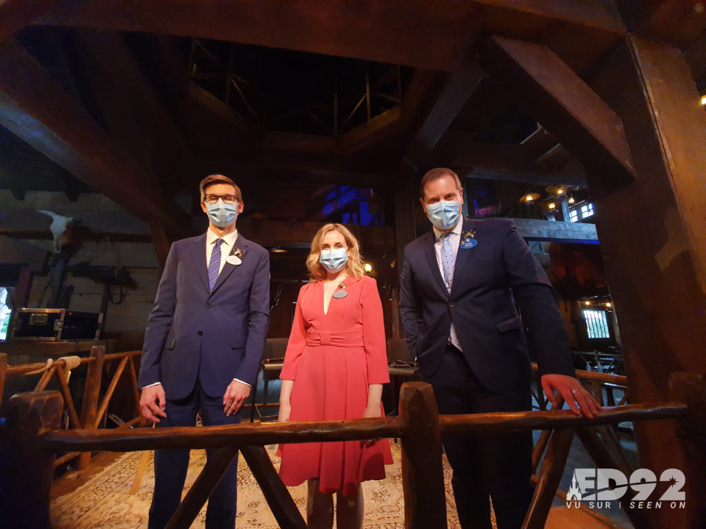 Quentin, Carment et Giona Ambassadeurs à Disneyland Paris
